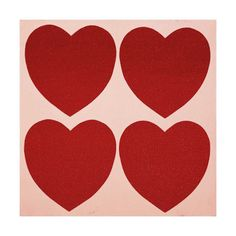 Hearts, c.1979-84. I love this simple Warhol.