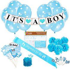 Baby Shower Party Decorations Kit: It's A Boy Blue Theme ... https://www.amazon.com/dp/B0755128LP/ref=cm_sw_r_pi_dp_U_x_i4wVAbZP39X7Z