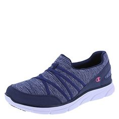 Champion Womens Navy Pink Womens Sierra SlipOn 10 Regular ** Learn more by visiting the image link.(This is an Amazon affiliate link)