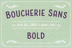 Boucherie Sans Bold by Laura Worthington on Creative Market
