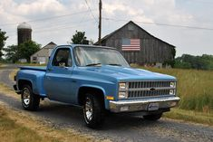 1982 Chevy C10 & American Pride