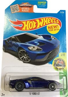 """73/250 is part of the 2016 Super Treasure Hunt set and 9/10 in the HW Exotics series. The Spectraflame blue car has the Ford logo on the hood and """"TH"""" right behind the rear window. It h…"""