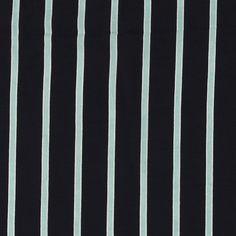 Vevet crepe viskose navy med striper