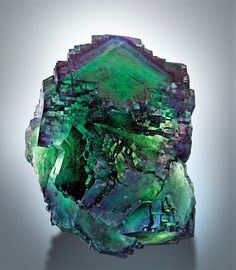 Fluorite specimen. Namibia. An aesthetic & educational blog - All photos are linked to their source - Most specimens are for...