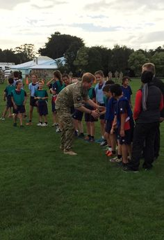 #PrinceHarry participates in a game of touch rugby with the local children #RoyalVisitNZ