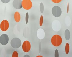 orange and grey baby shower - Google Search