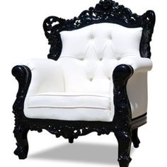 save of Fabulous and Baroque — Modern Baroque Rococo Furniture and Interior Design on Wanelo Baroque Furniture, Unique Furniture, Furniture Decor, Living Room Furniture, Furniture Design, Outdoor Furniture, Furniture Logo, Furniture Online, Wooden Furniture