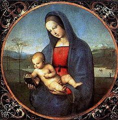 Raffaello Sanzio - Madonna Conestabile