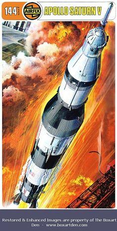 Airfix Apollo Saturn V Type 4