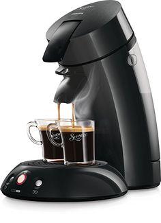 Senseo HD7810/60 Original Kaffeepadmaschine (1 - 2 Tassen gleichzeitig) schwarz      Ein oder zwei Tassen gleichzeitig; in weniger als 1 Minute     Leckere Crema; der Beweis für erstklassige Qualität     Große Auswahl an Pads; für jeden Geschmack und ohne Aluminium     Leichte Bedienung - dank One-Touch-System für köstlichen Kaffee auf Knopfdruck     Lieferumfang: Philips Senseo Original Kaffeepadmaschine schwarz, Kaffeepadhalter für 1 und 2 Pads.