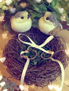 bird nest ring pillow if interested pls email :somethingsweetworkshop@ymail.com
