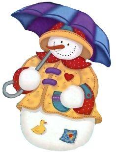 snowmen, snowpeopl
