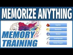 How to Memorize Fast and Easily | Improve Memory Training Techniques to Remember Anything Quickly - YouTube