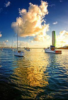 Santo Antonio, Recife, Pernambuco, Golden Cloud Reflection | por Omar Junior