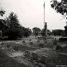 The Rohwer Internment Camp cemetery in Rohwer, near Watson and not far from McGehee.