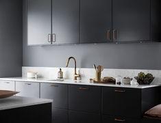 Lite härliga bilder från köket | Frida Fahrman Kitchen Dining, Kitchen Cabinets, Double Vanity, New Homes, Contemporary, Interior, Home Decor, Kitchens, Croatia