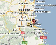 Carte Argelès-sur-Mer