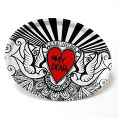 This pretty oval birchwood tray is decorated with the words from Auld Lang Syne and The distincitve Susan McGill tattooed swallows. It measures at its widest point. Swallow Tattoo, Auld Lang Syne, Scottish Gifts, Wedding Gifts, Tray, Design, Wedding Day Gifts, Tattoo Swallow, Wedding Favors