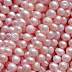 Love pearls and love pink. What could be better than pink pearls?