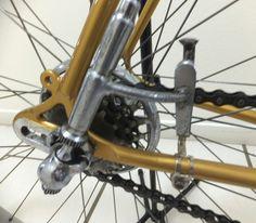 1950 Masi Paris Roubaix. Old Bicycle, Bicycle Parts, Paris Roubaix, Bike Components, Classic Bikes, Bella, Gears, Cycling, Frames