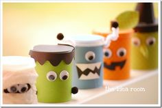 Monster tubs, have to make some, fill them with playdough