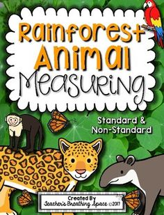 The rainforest school pinterest rainforest song layering and rainforest animal measuring book and measurement math center fandeluxe Images