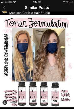 Gorgeous Hair Color, Cool Hair Color, Redken Toner, Hair Color Placement, Redken Hair Color, Hair Job, Redken Hair Products, Hello Hair, Hair Color Formulas