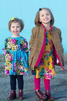 Little girl dresses, winter looks, joules clothing