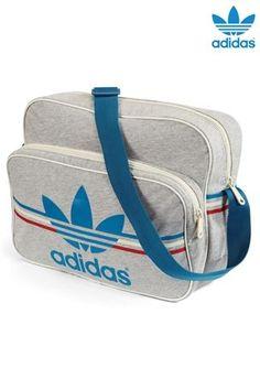 bdf17a1f139e adidas Grey Jersey Airline Bag  60.