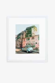 A Citroen in Paris, France Printed on Hahnemuhle Photo Rag 308 Free domestic shipping on all orders Right this way for more details Polaroid Photos, Ocean Beach, Paris, Blue Bath, Photography, Vintage, Photo Ideas, Ariel, Polaroid Pictures