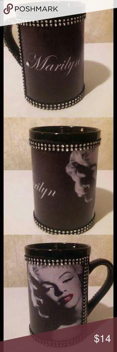 Marilyn Monroe Ms. Monroe display on black up and rhinestones Other
