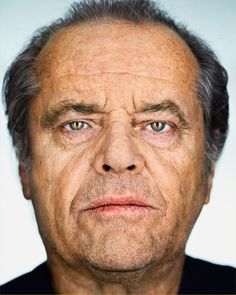 Jack Nicholson   Martin Schoeller Close Up