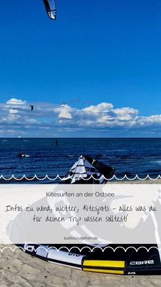 Kitesurfen an der Ostsee. Die Ostsee hat viele verschiedene Kitespots, hier ist für jeden Geschmack etwas dabei. Ich zeig Dir warum sich Kitesurfen in Deutschland definitiv lohnt und verrate dir warum du diesen Kite-Trip keinesfalls verpassen solltest!
