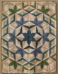 Image result for diamond log cabin quilt pattern