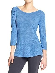 Women's Old Navy Active Burnout Tees | Old Navy