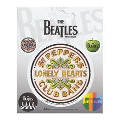 Beatles Sgt Peppers Set of 5 Vinyl Stickers Officially licensed merchandise