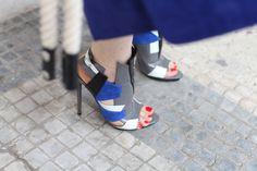 Street looks à la Fashion Week haute couture de Paris,