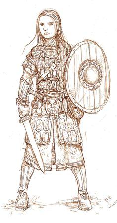 Trudvang character by kickfoot on DeviantArt