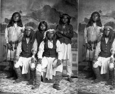 Group of Apache renegades :: Photographs - Western History