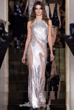 Atelier Versace Spring 2015 Couture Fashion Show - Isabeli Fontana (Next)