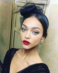 Zhenya Katava - Backstage at Dolce & Gabbana Alta Moda 2016