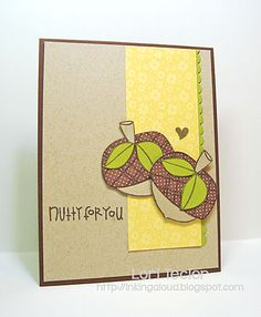 Nutty for You card-designed by Lori Tecler/Inking Aloud-stamps and dies from Paper Smooches