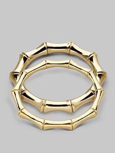 Gucci Golden Bamboo Bracelet