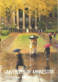 Minnesota - University of Minneapolis by 9teen87's Postcards, via Flickr