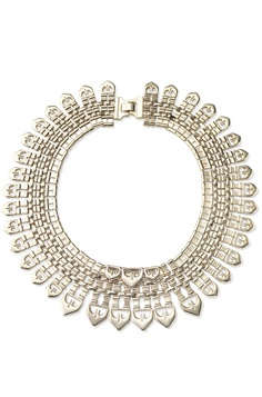 Large Gold Cleopatra Egyptian Collar Necklace | Fatima Necklace | Stella & Dot