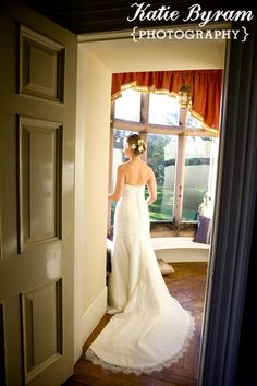 View from bridal suite  http://www.photographybykatie.co.uk