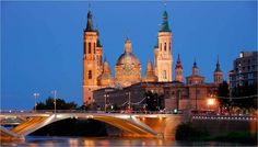 Zaragoza Hotel Reception, Belem, Barcelona Cathedral, Places Ive Been, Spain, To Go, Mansions, Architecture, House Styles