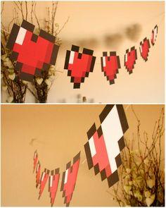 zelda birthday party favors | zelda banner decorations