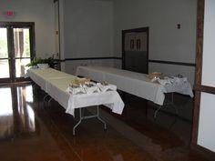 Majewski-Steed wedding at the Pavilion. Buffet style!