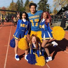 Charles Melton, Camila Mendes, Vanessa Morgan and Madelaine Petsch Riverdale Netflix, Riverdale Merch, Riverdale Funny, Riverdale Archie, Riverdale Cast, Riverdale Series, Vanessa Morgan, Riverdale Poster, Camila Mendes Riverdale